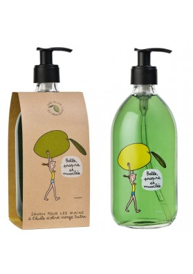 "LIQUID SOAP 16.9 FL.OZ ""OLIVE"" DESIGNED BY SOLEDAD"
