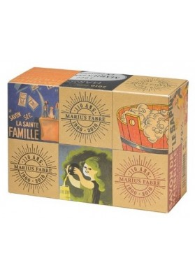 "Boxed set 6 Marseille Soaps ""Collector 110 years old"""