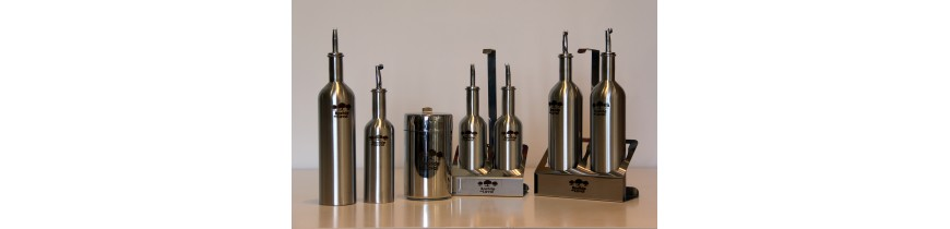 Oilive Oil Dispensers and Stainless Steel Drums