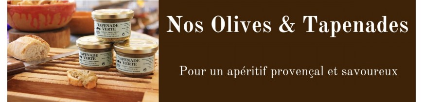 Olives and Tapenades